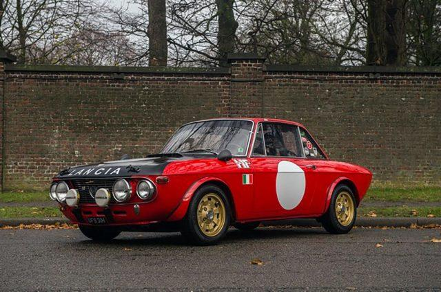 LANCIA Fulvia Rally 1.3 S  Aluminum Hood and Doors /RESTAURATA