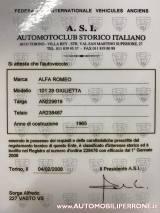 ALFA ROMEO Giulietta 1.3 Ti ISCRITTA ASI - Perfettamente conservata