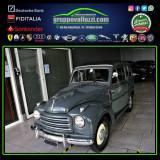 FIAT 500 TOPOLINO BELVEDERE ISCRITTA ASI COSTRUZIONE 1954