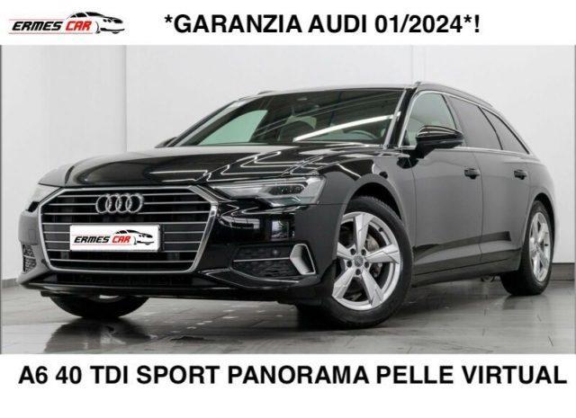 AUDI A6 Avant 40TDI S tronic Sport-PANO-VIRTUAL-PELLE