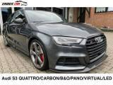 AUDI S3 Sedan quattro S tronic/CARBONIO/PANO/PELLE ROSSA