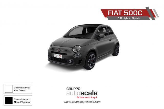 FIAT 500C 1.0 Hybrid Sport