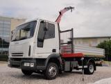 IVECO LKW/TRUCKS Eurocargo 75E15 con gru e ribaltabile