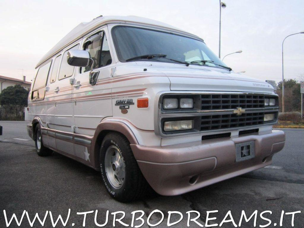 CHEVROLET Chevy Van G20 5 7 V8 quot BROUGHAM quot by STARCRAFT HIGH